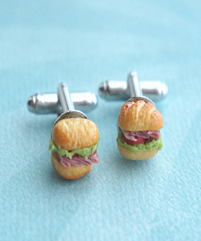 Sub Sandwich Cuff links - Jillicious charms and accessories - 1