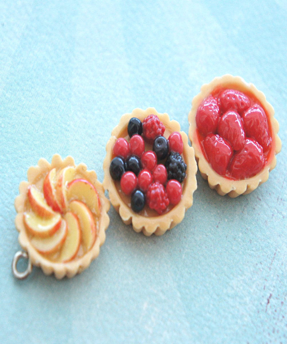 fruit tart necklace - Jillicious charms and accessories - 3