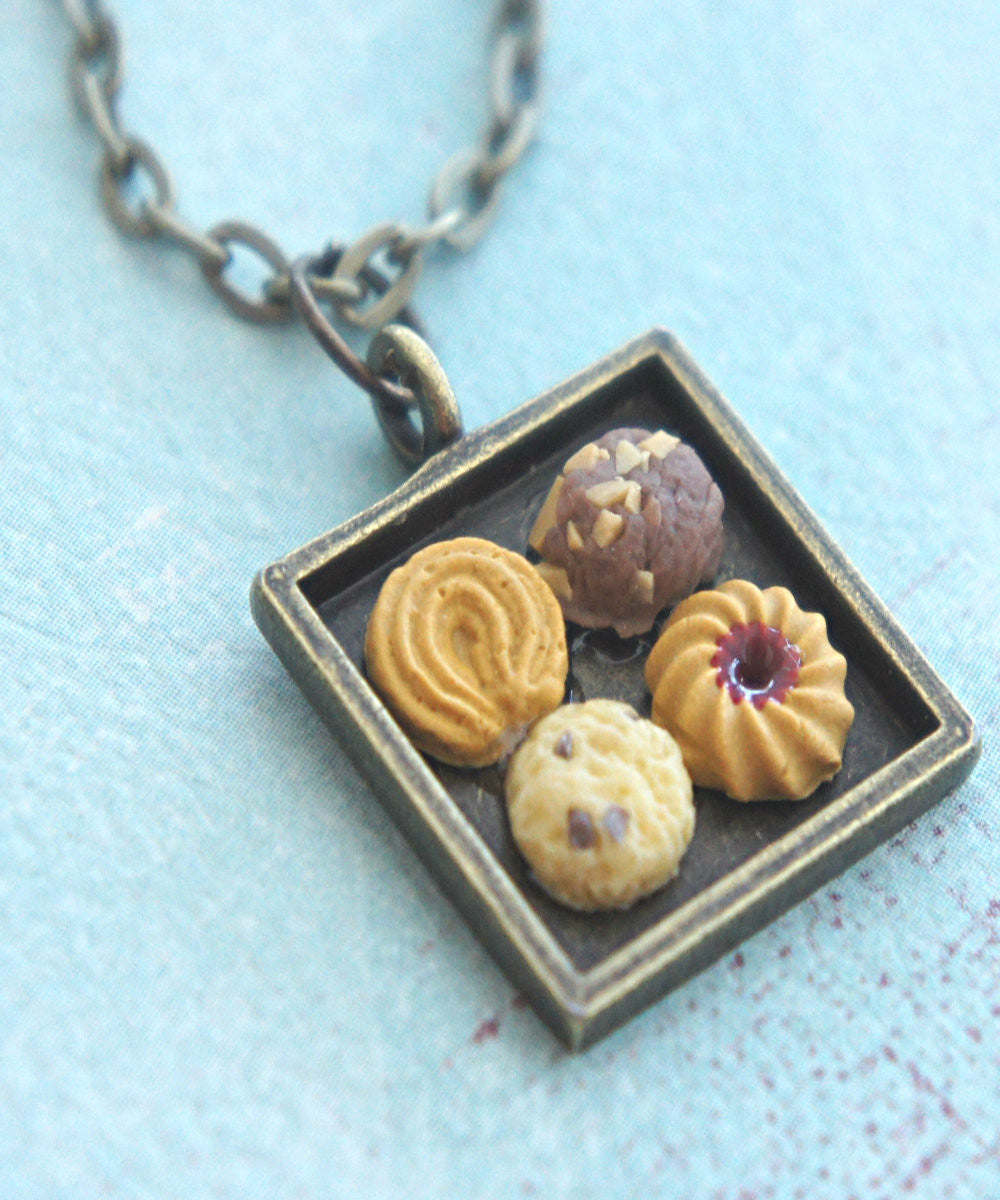 cookie sampler necklace - Jillicious charms and accessories
