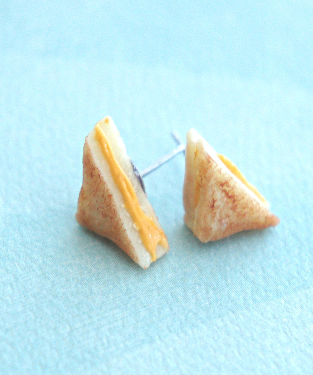 grilled cheese sandwich earrings - Jillicious charms and accessories - 3
