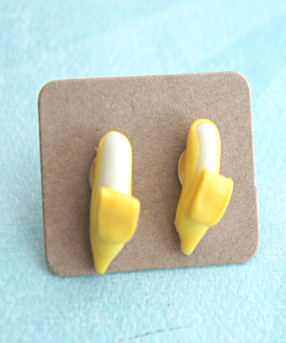 Banana Stud Earrings - Jillicious charms and accessories - 2