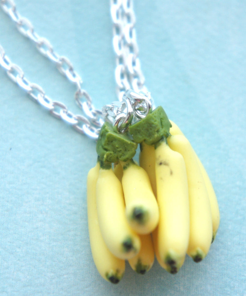 Banana Bunch Friendship Necklace Set - Jillicious charms and accessories - 2