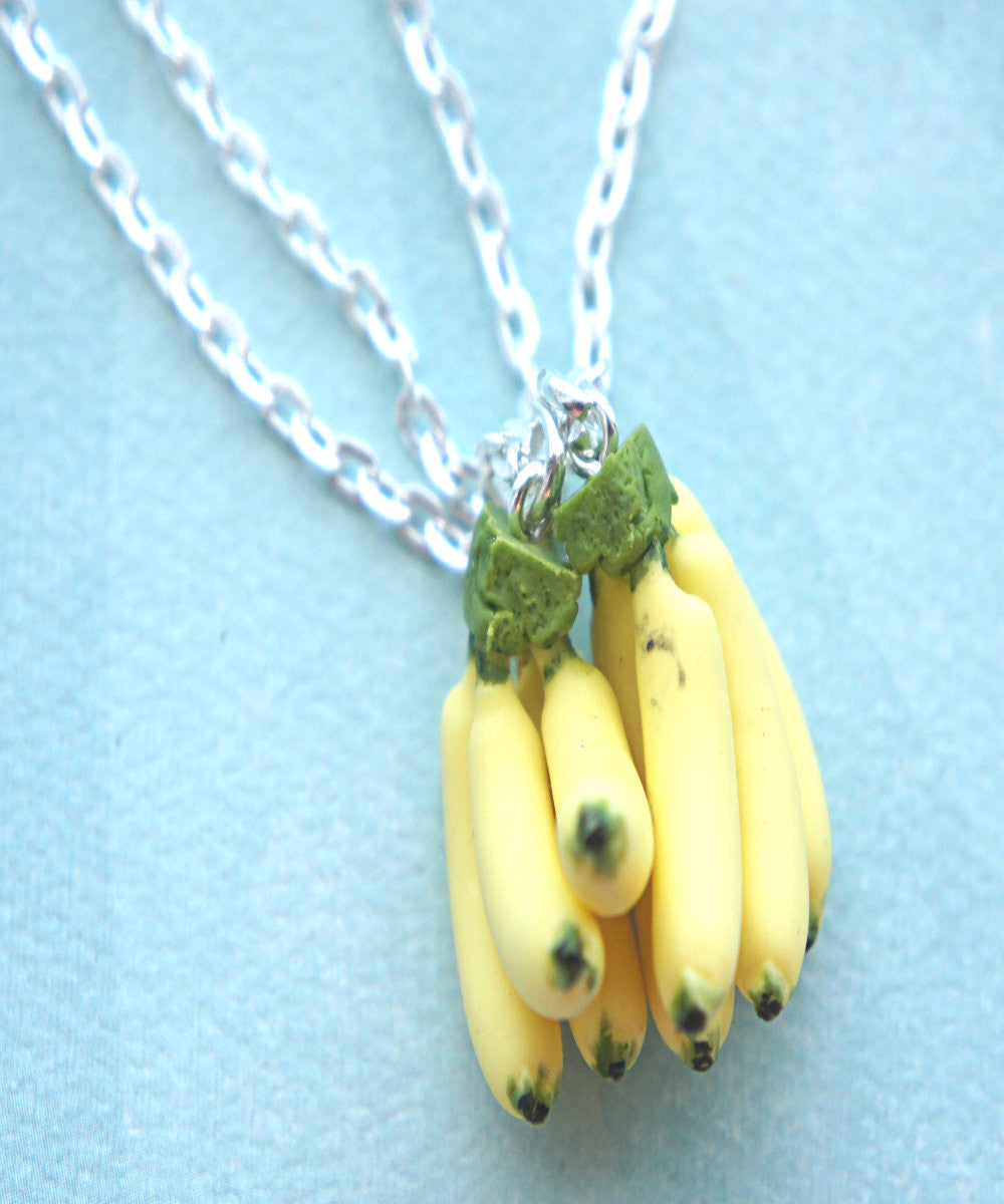 Banana Bunch Friendship Necklace Set - Jillicious charms and accessories - 3