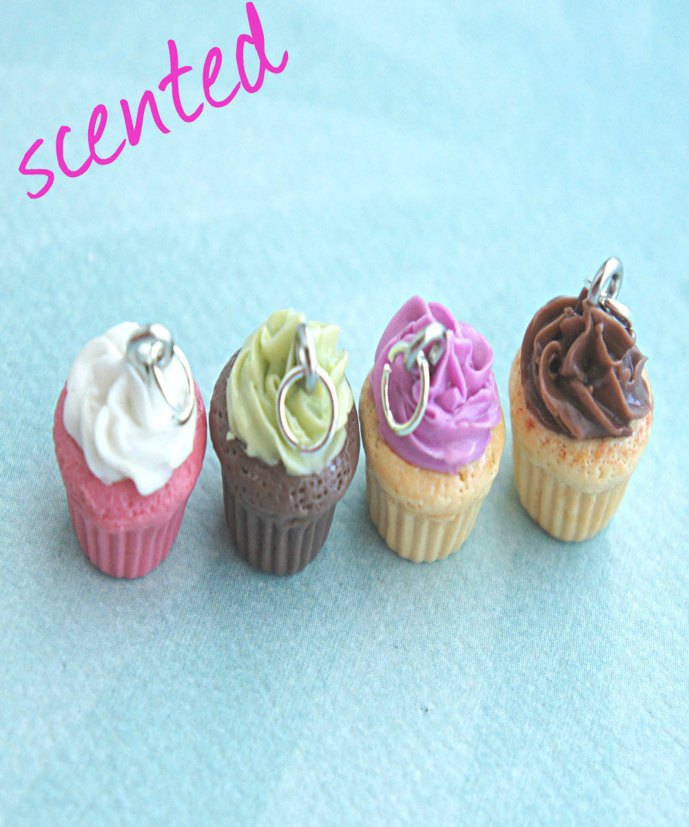 Scented Cupcake Necklace - Jillicious charms and accessories - 1
