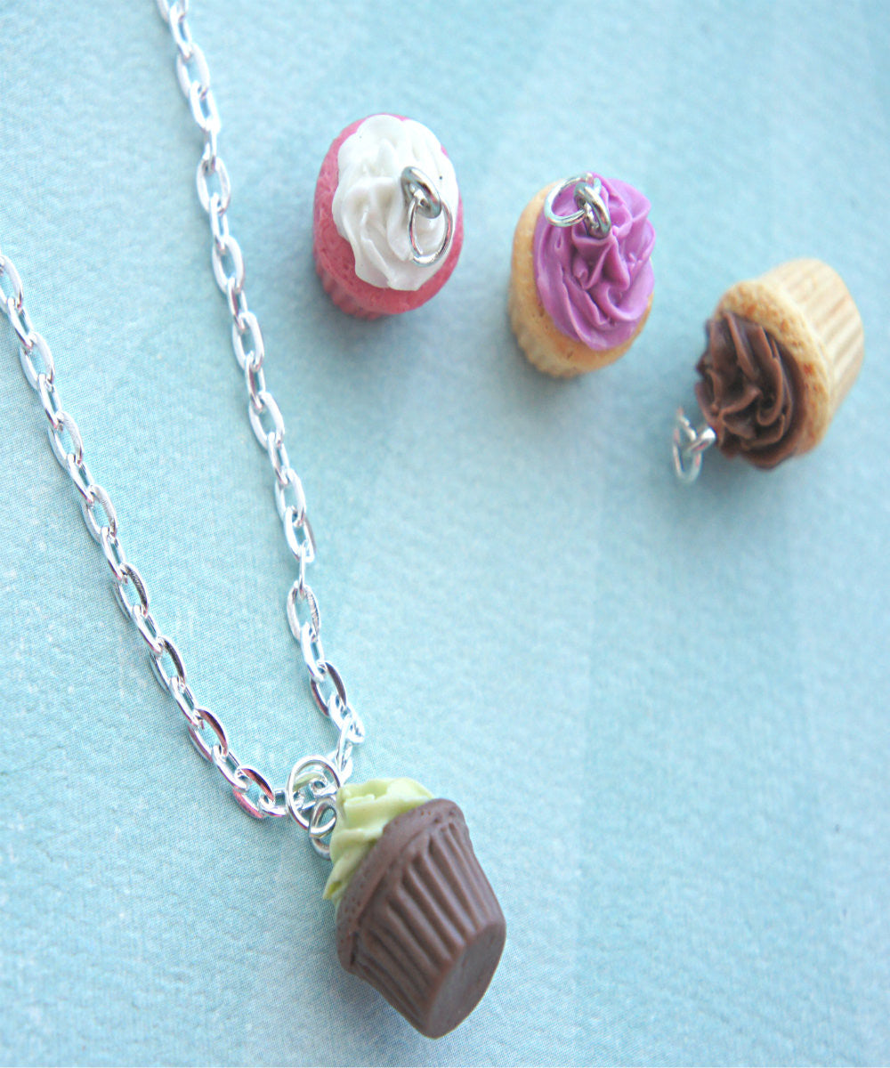 Scented Cupcake Necklace - Jillicious charms and accessories - 3