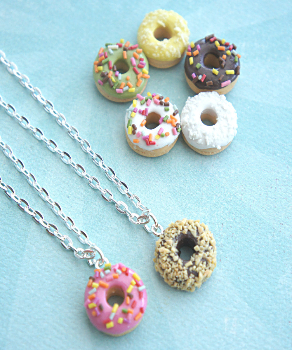Scented Donut Necklace - Jillicious charms and accessories - 4