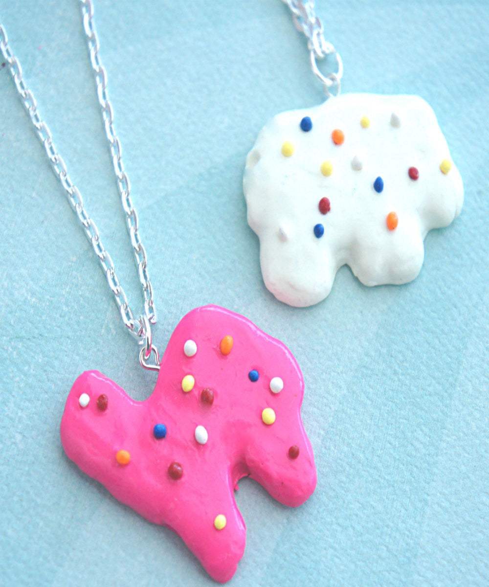 circus animal cookie necklace - Jillicious charms and accessories