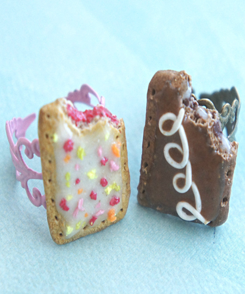 Pop Tarts Friendship Rings - Jillicious charms and accessories - 1