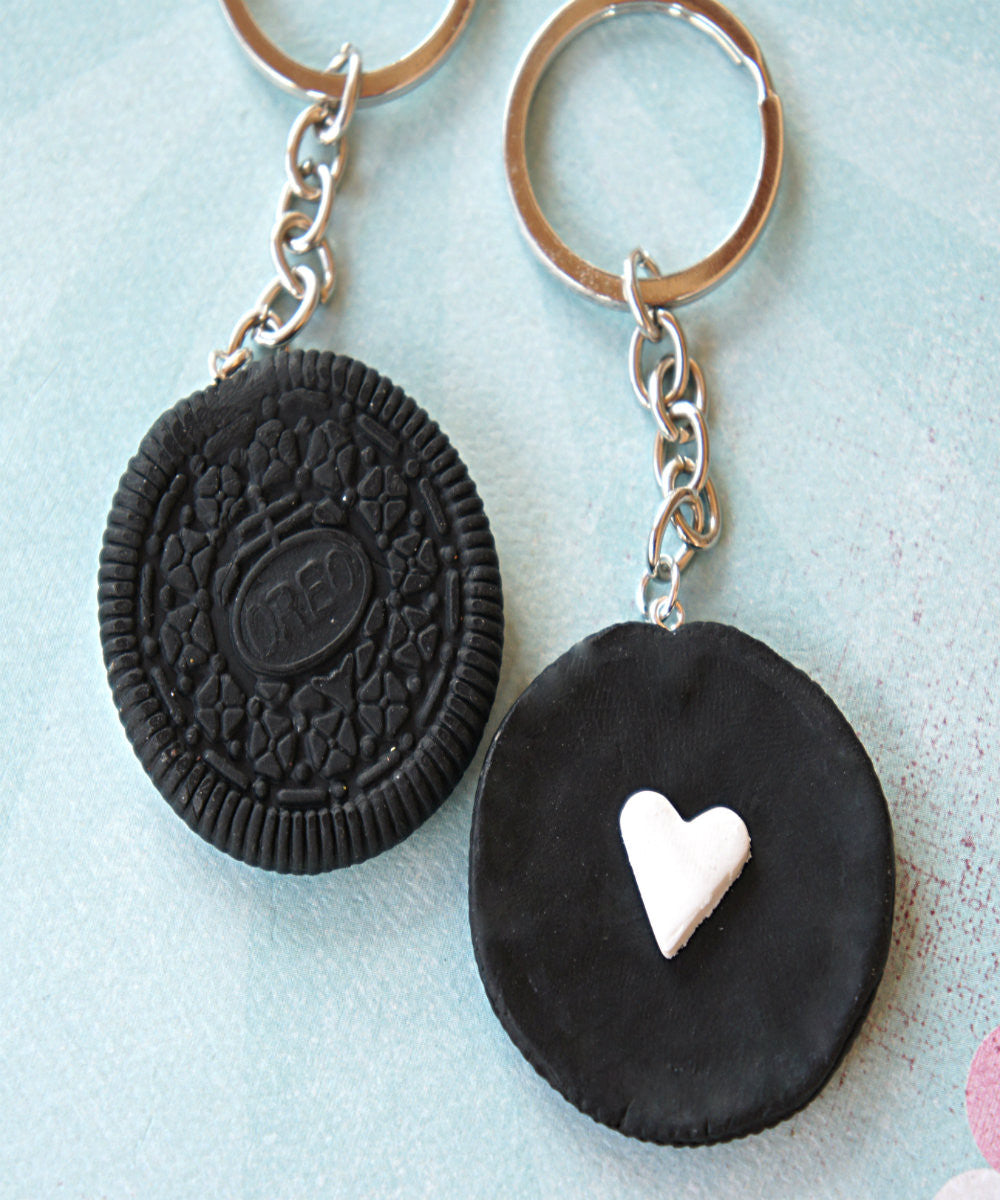 Oreo Cookies Friendship Keychain Set - Jillicious charms and accessories - 1