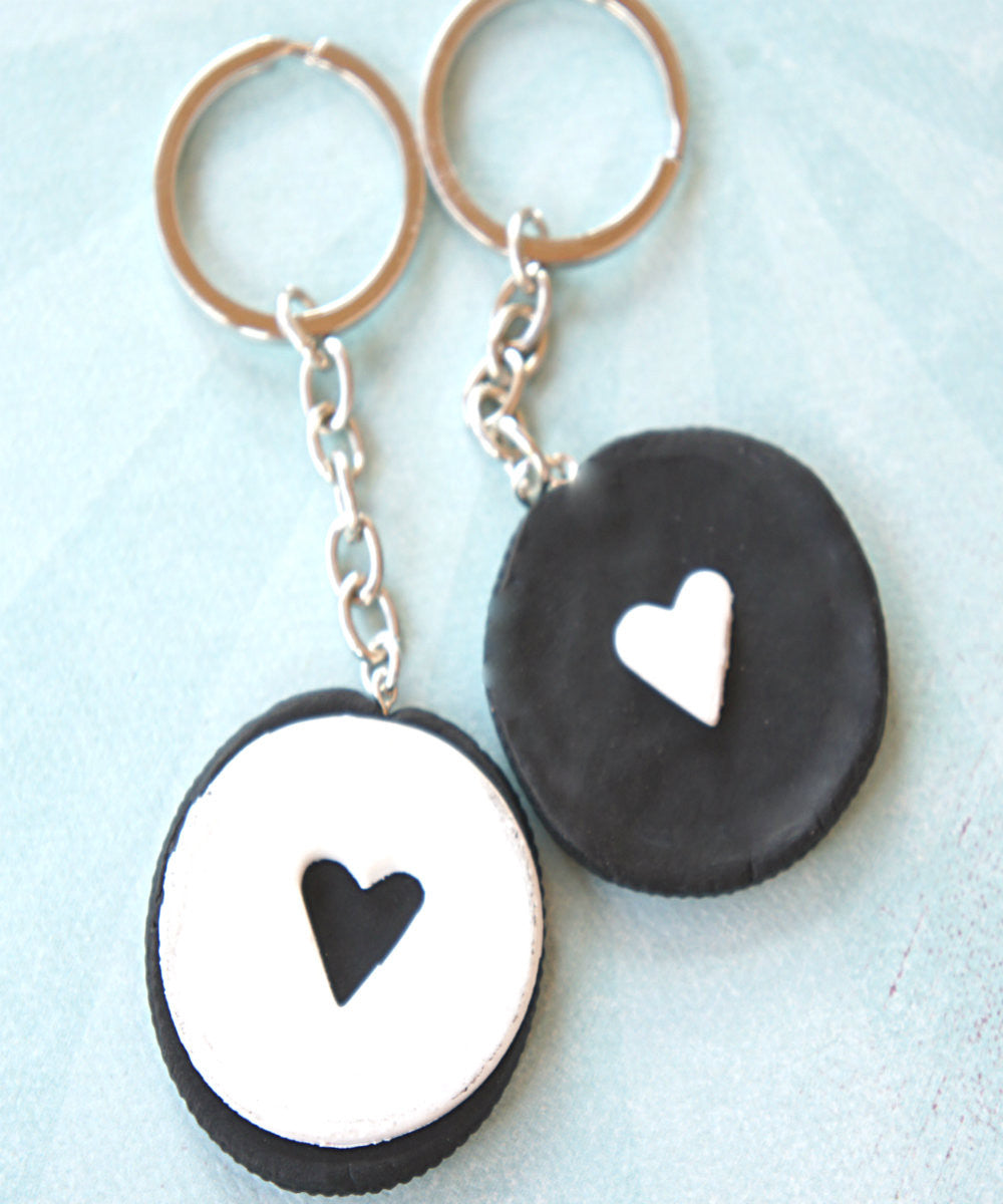 Oreo Cookies Friendship Keychain Set - Jillicious charms and accessories - 4