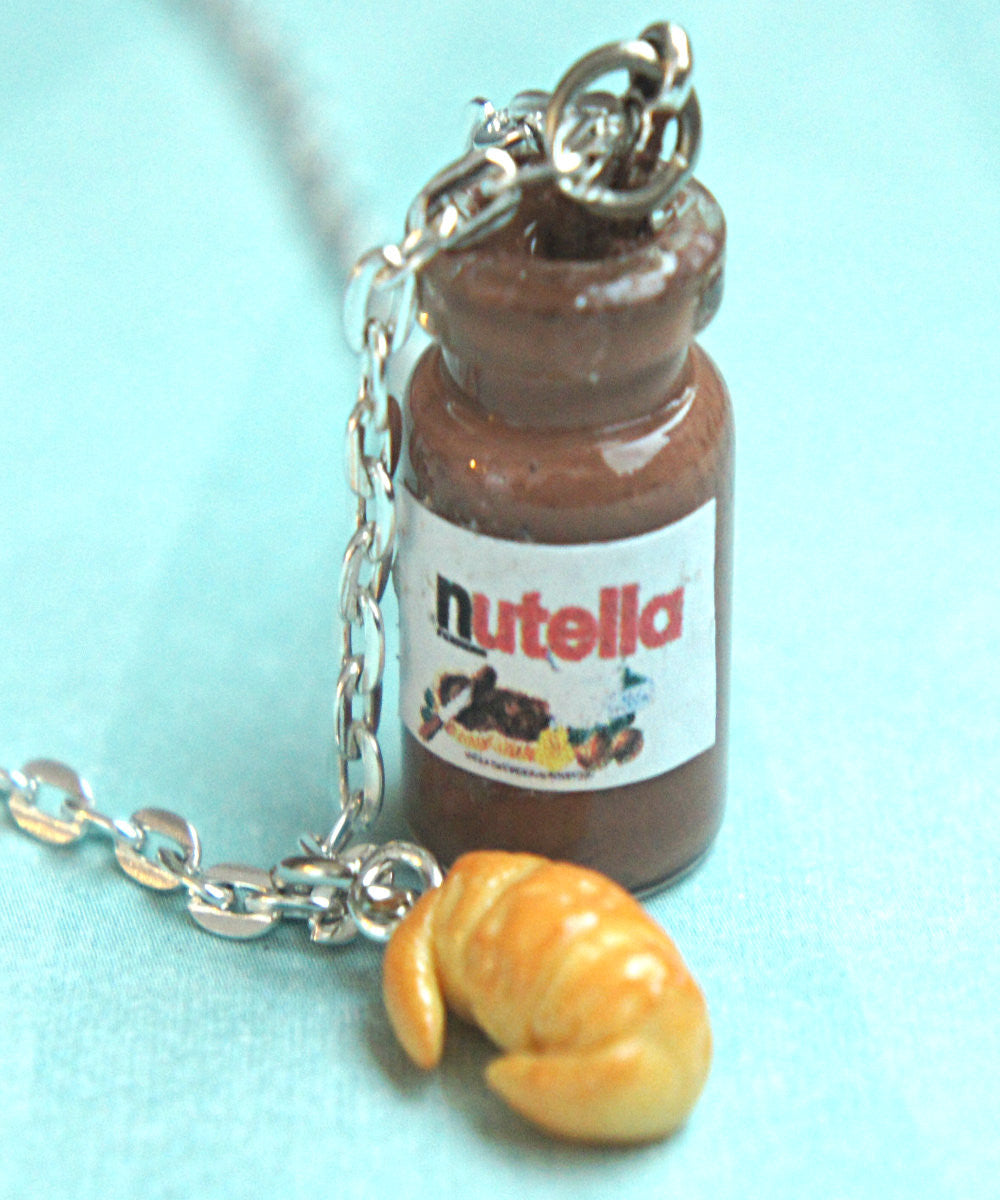 Nutella Jar and Croissant Necklace - Jillicious charms and accessories - 2