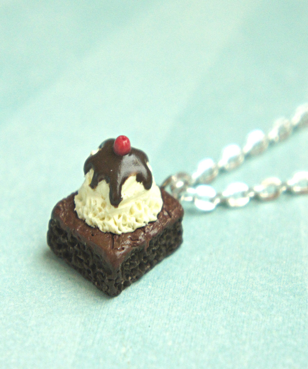 Brownie Sundae Necklace - Jillicious charms and accessories