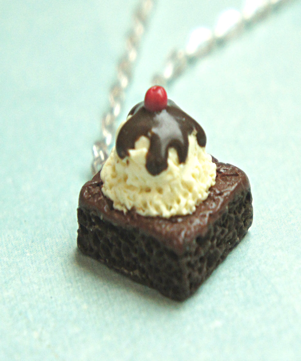 Brownie Sundae Necklace - Jillicious charms and accessories - 2