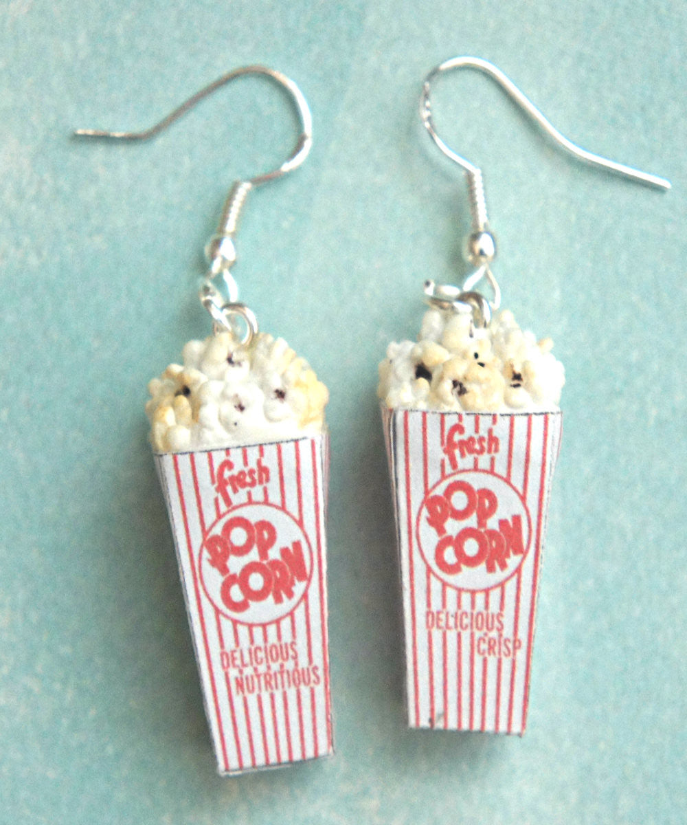Popcorn Dangle Earrings - Jillicious charms and accessories - 3