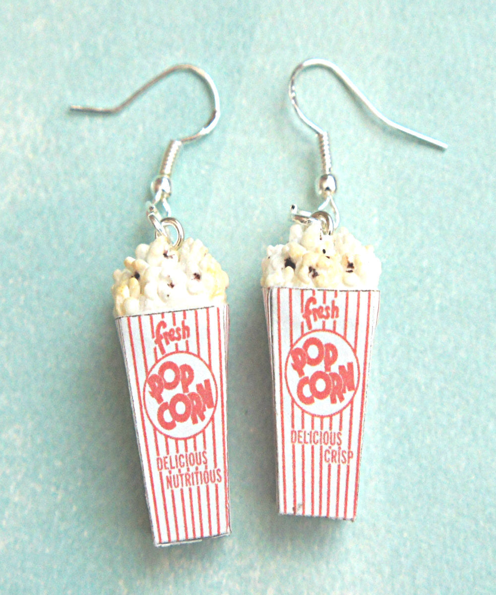 Popcorn Dangle Earrings - Jillicious charms and accessories - 1