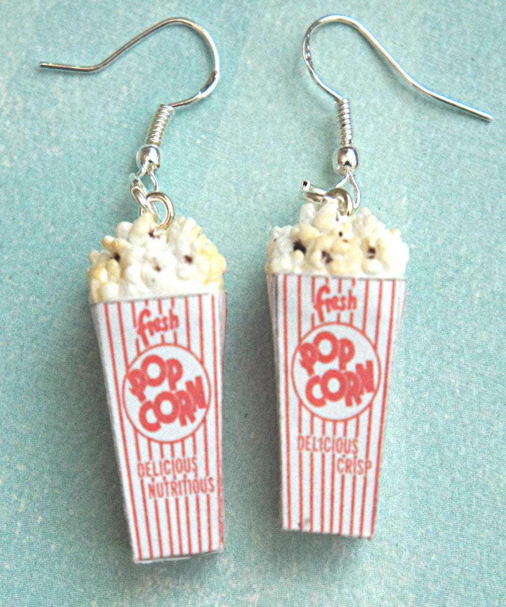 Popcorn Dangle Earrings - Jillicious charms and accessories - 2