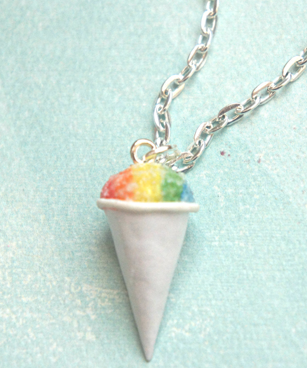 Snow Cone Necklace - Jillicious charms and accessories