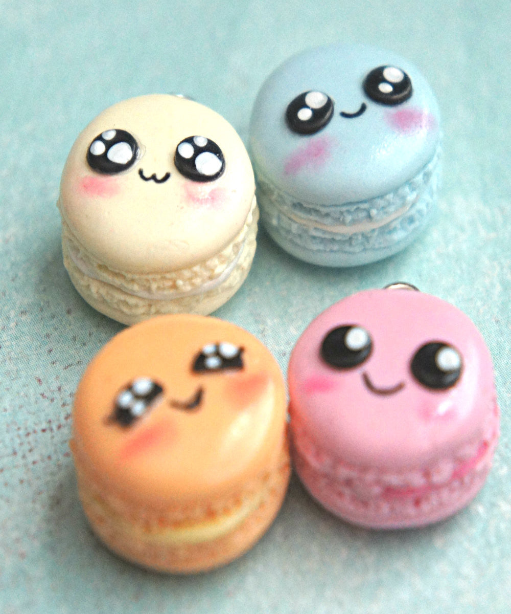 Kawaii French Macaron Necklace - Jillicious charms and accessories - 1
