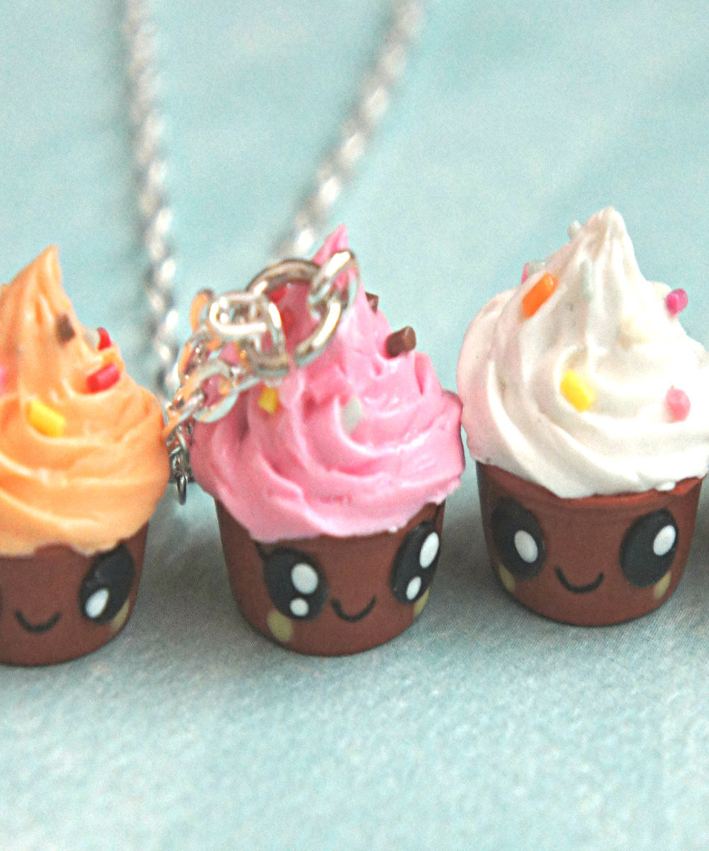 Kawaii Froyo Necklace - Jillicious charms and accessories - 1
