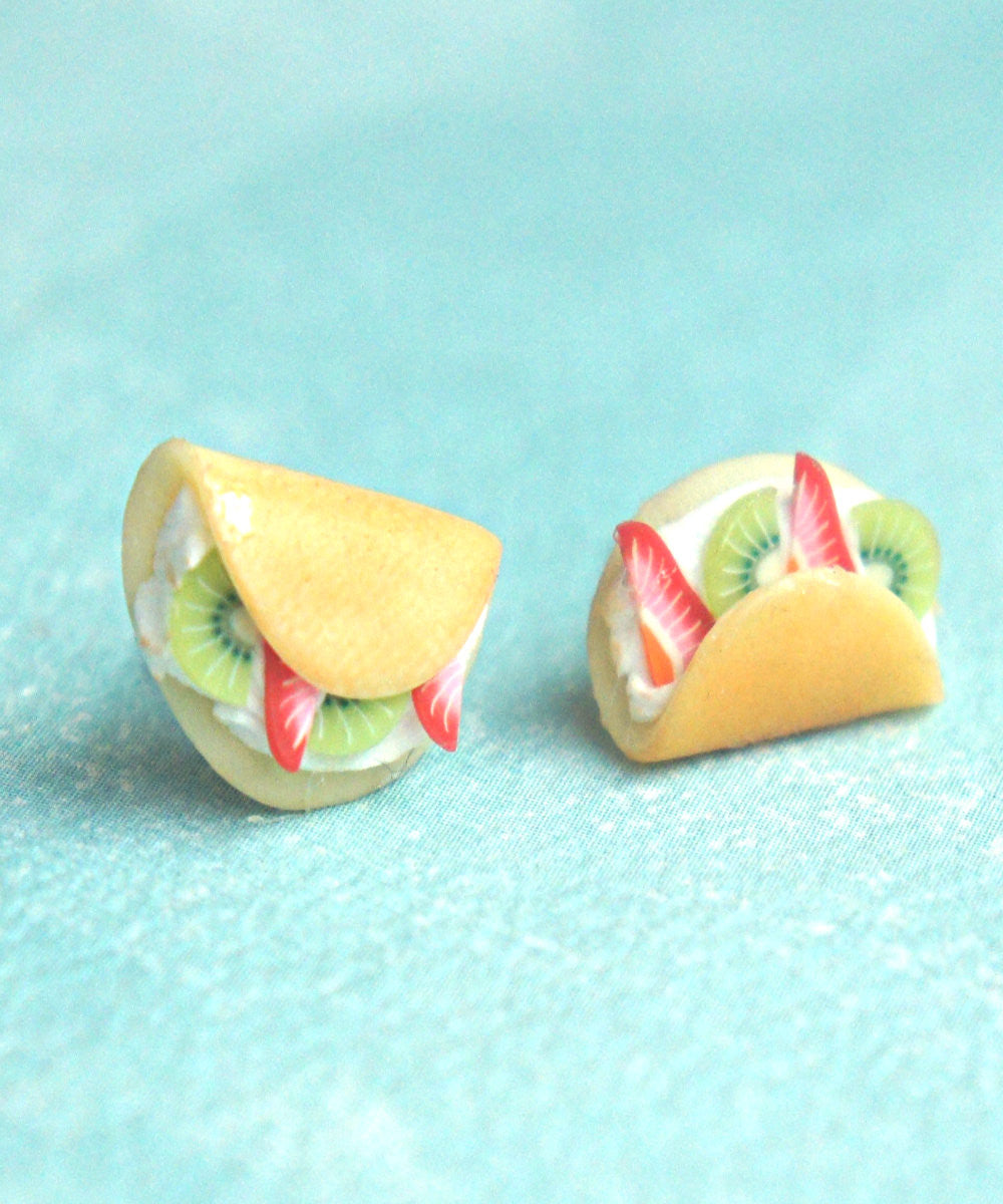 fruit crepe earrings - Jillicious charms and accessories