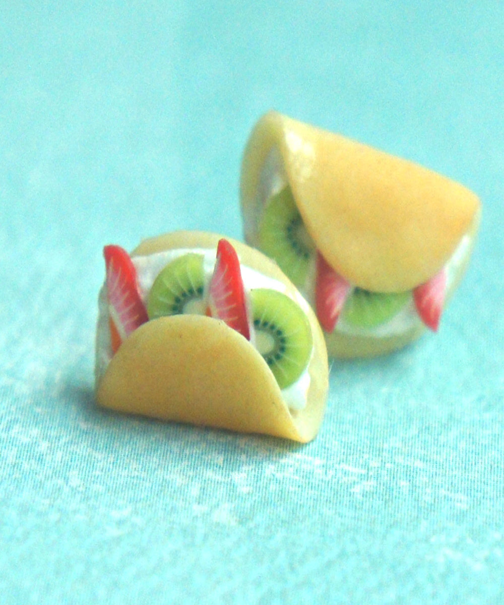 fruit crepe earrings - Jillicious charms and accessories - 5