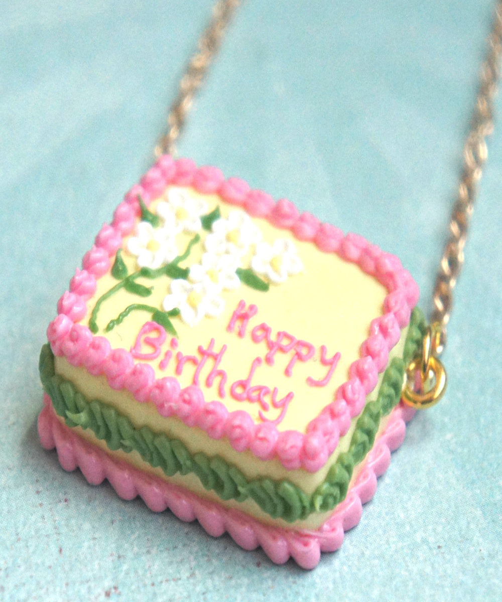 Birthday Cake Necklace - Jillicious charms and accessories - 4