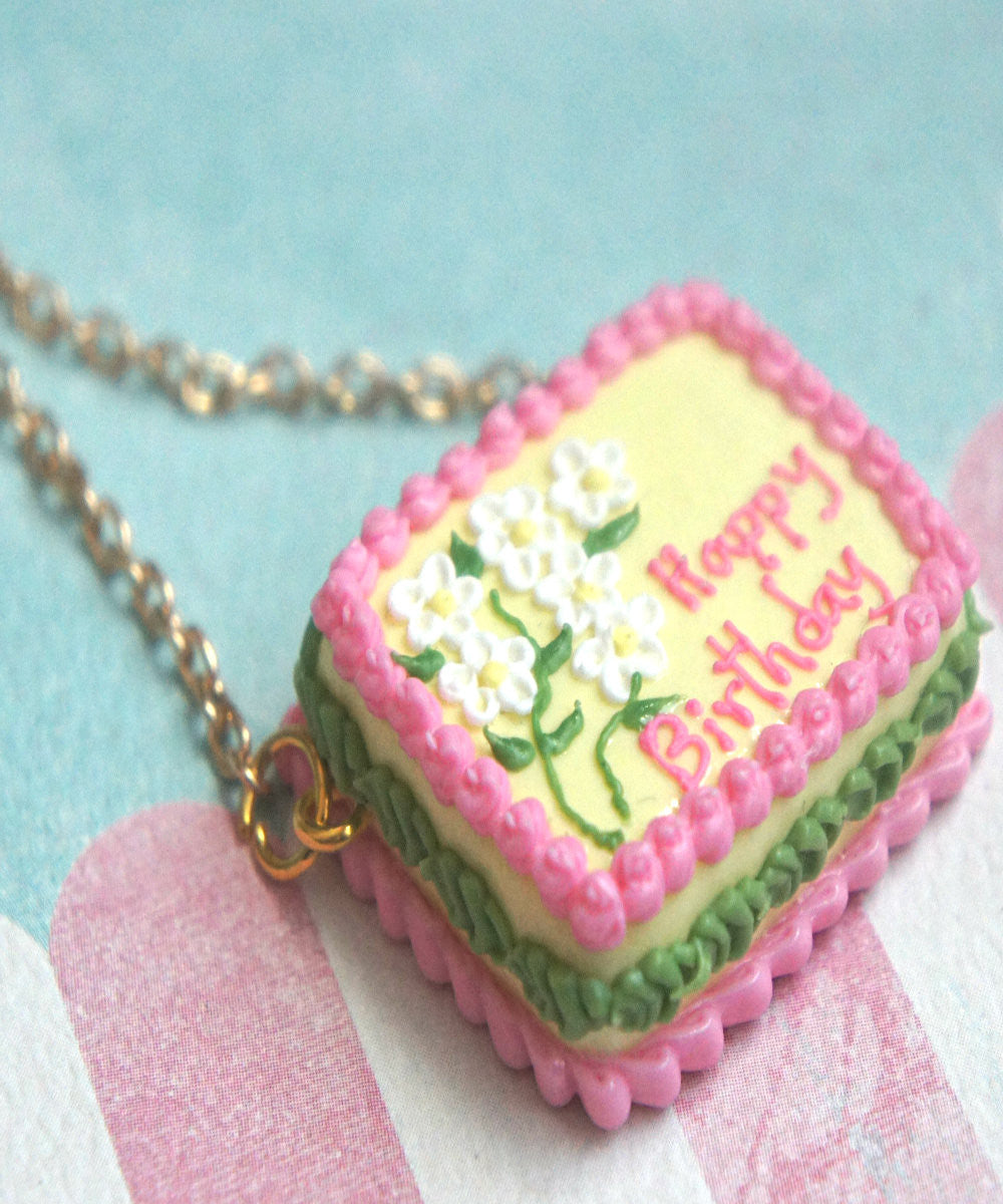 Birthday Cake Necklace - Jillicious charms and accessories - 3