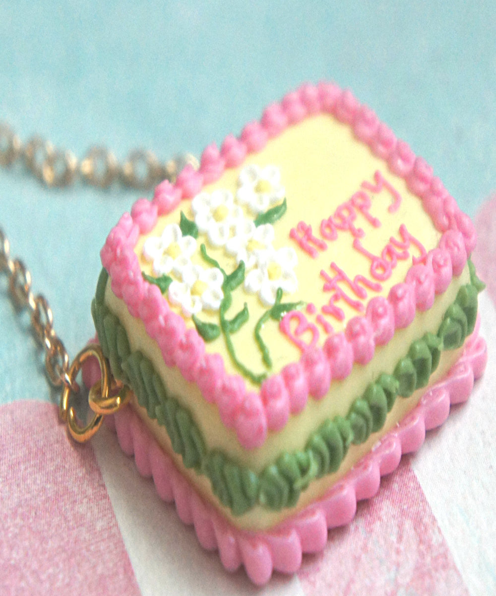 Birthday Cake Necklace - Jillicious charms and accessories - 5