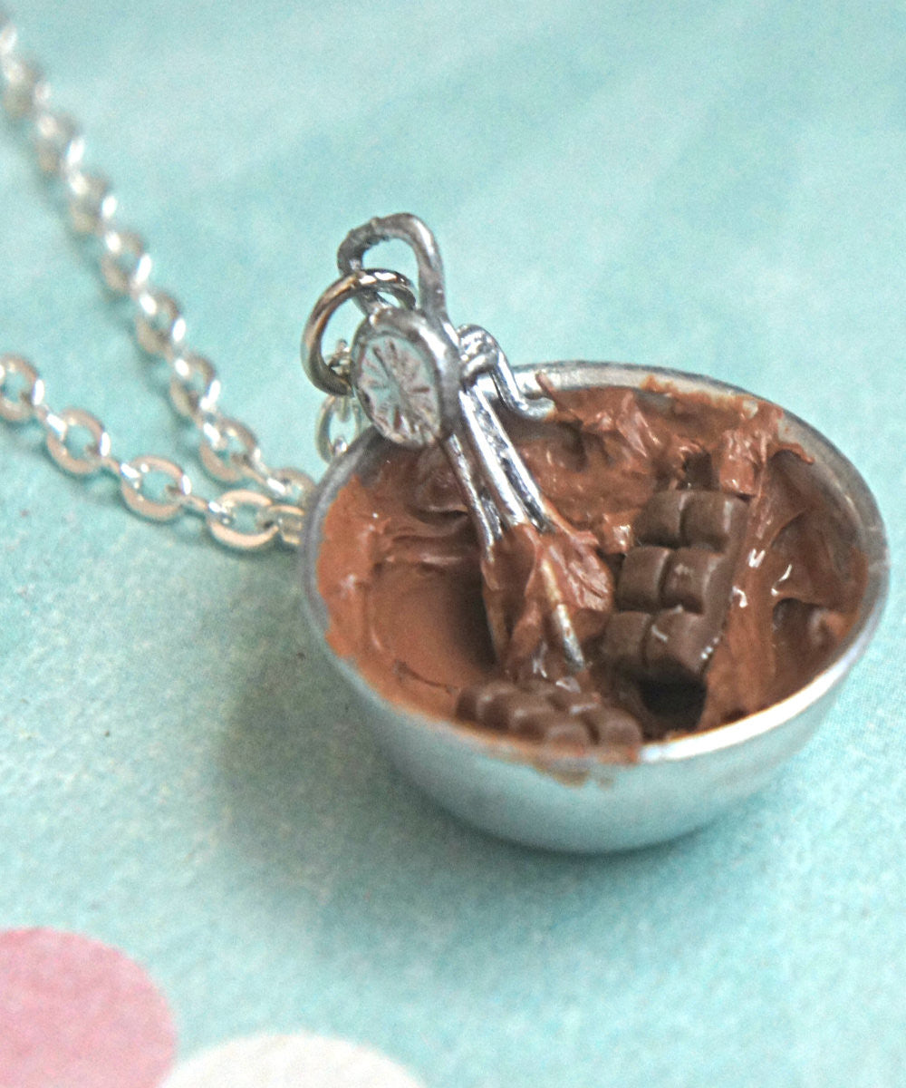 chocolate ganache icing necklace - Jillicious charms and accessories - 2