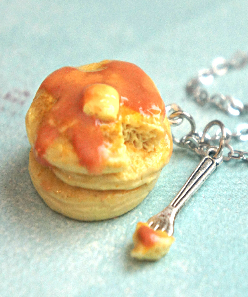 Pancake Stack Necklace - Jillicious charms and accessories - 3