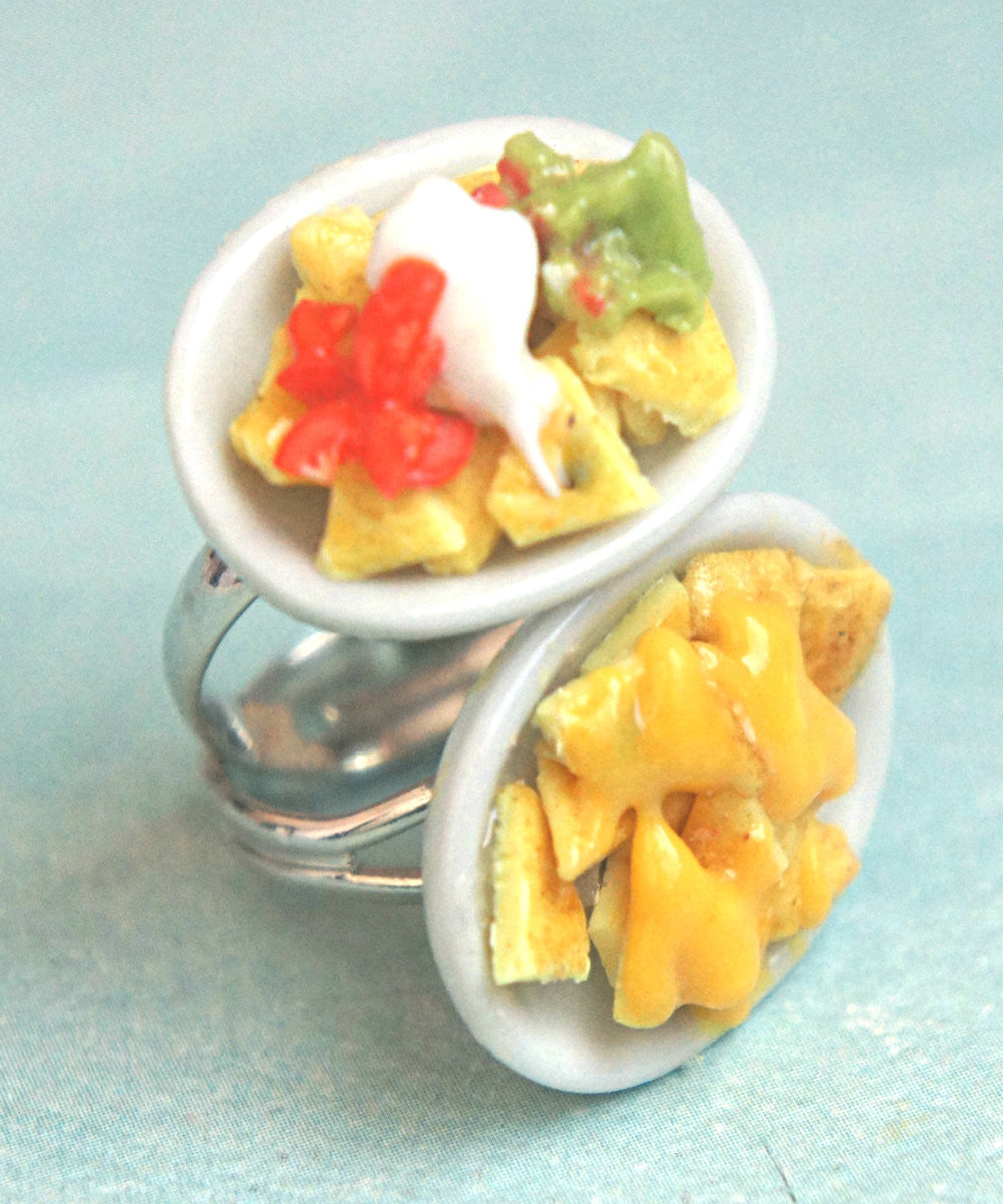 Nachos Plate Ring - Jillicious charms and accessories - 1