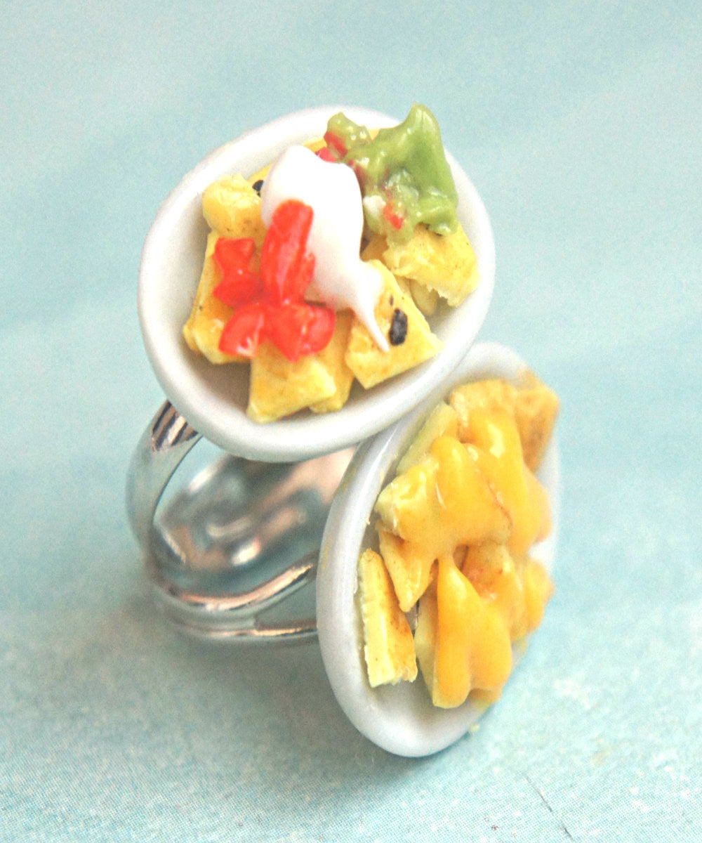 Nachos Plate Ring - Jillicious charms and accessories - 3
