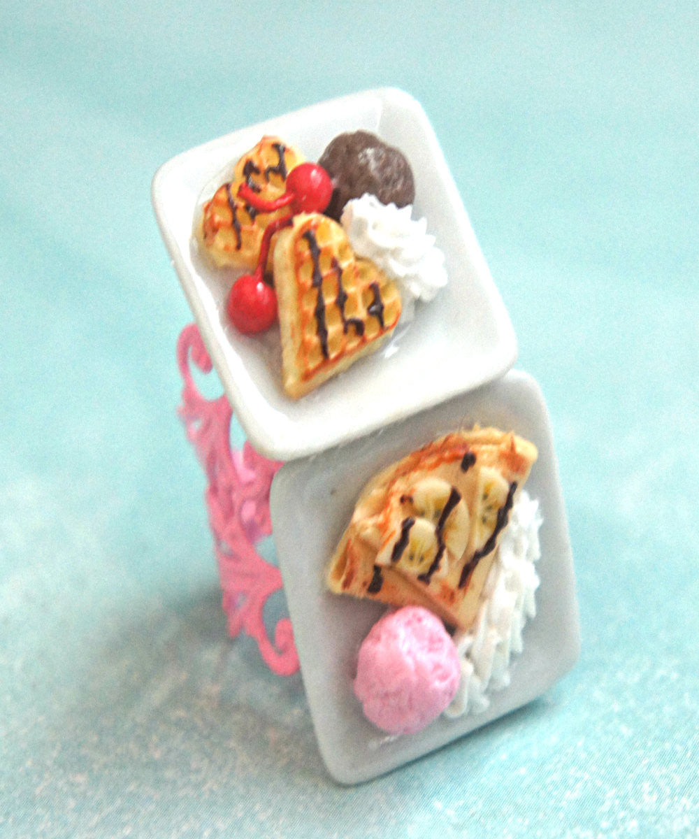 dessert plate ring - Jillicious charms and accessories