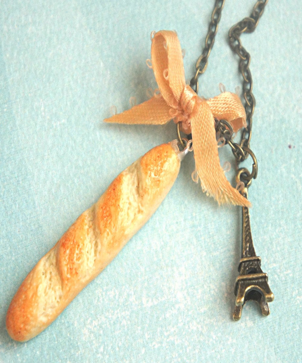 Baguette Necklace - Jillicious charms and accessories