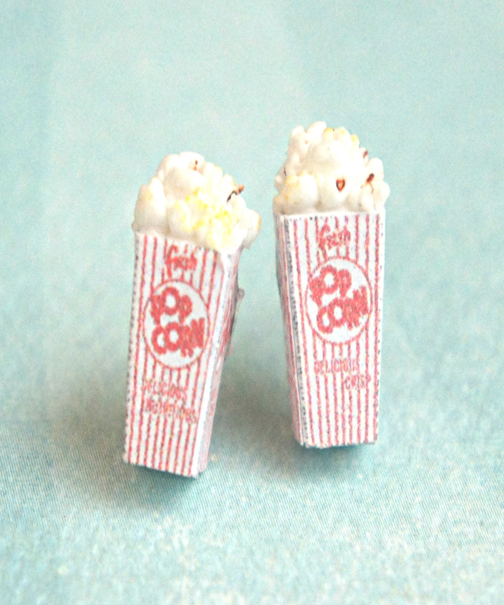 Popcorn Stud Earrings - Jillicious charms and accessories - 1