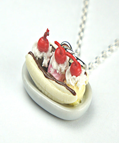 Banana Split Necklace - Jillicious charms and accessories
