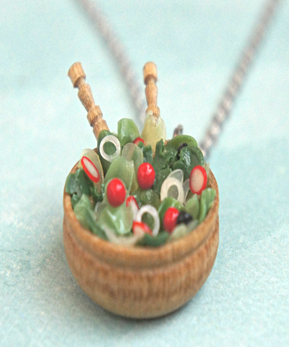 Salad Bowl Necklace - Jillicious charms and accessories - 1