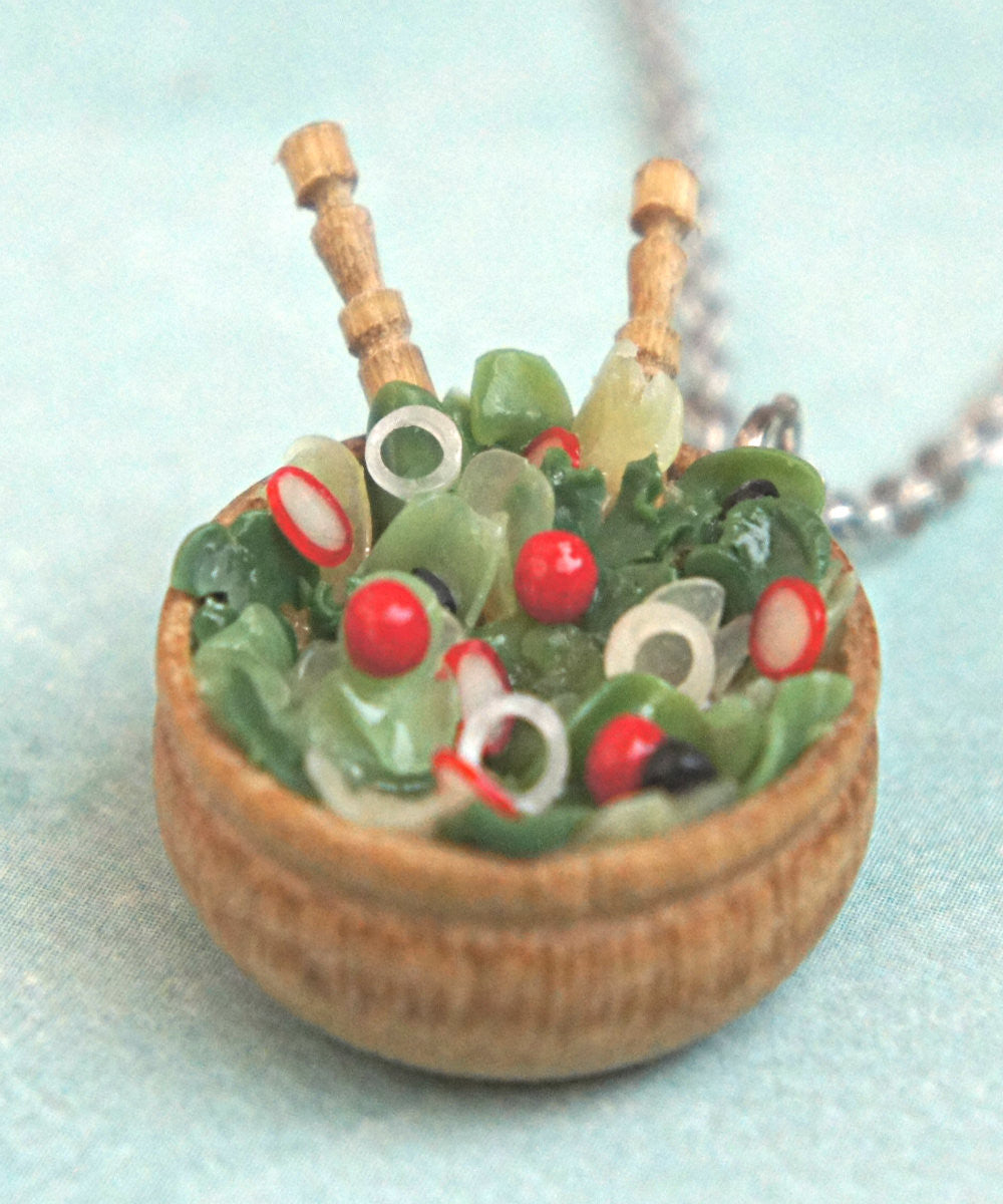 Salad Bowl Necklace - Jillicious charms and accessories - 2