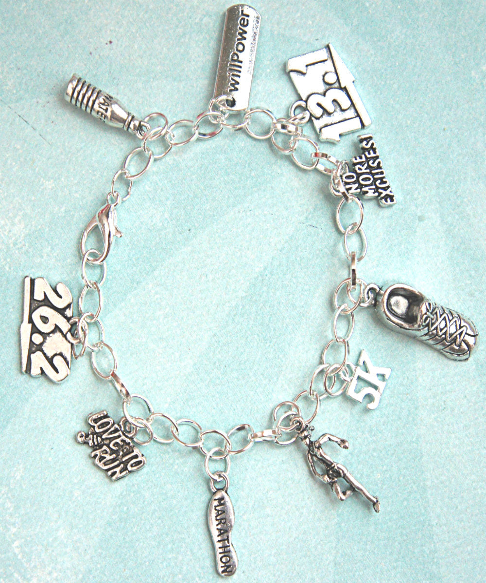 Marathon Inspired Charm Bracelet - Jillicious charms and accessories - 2