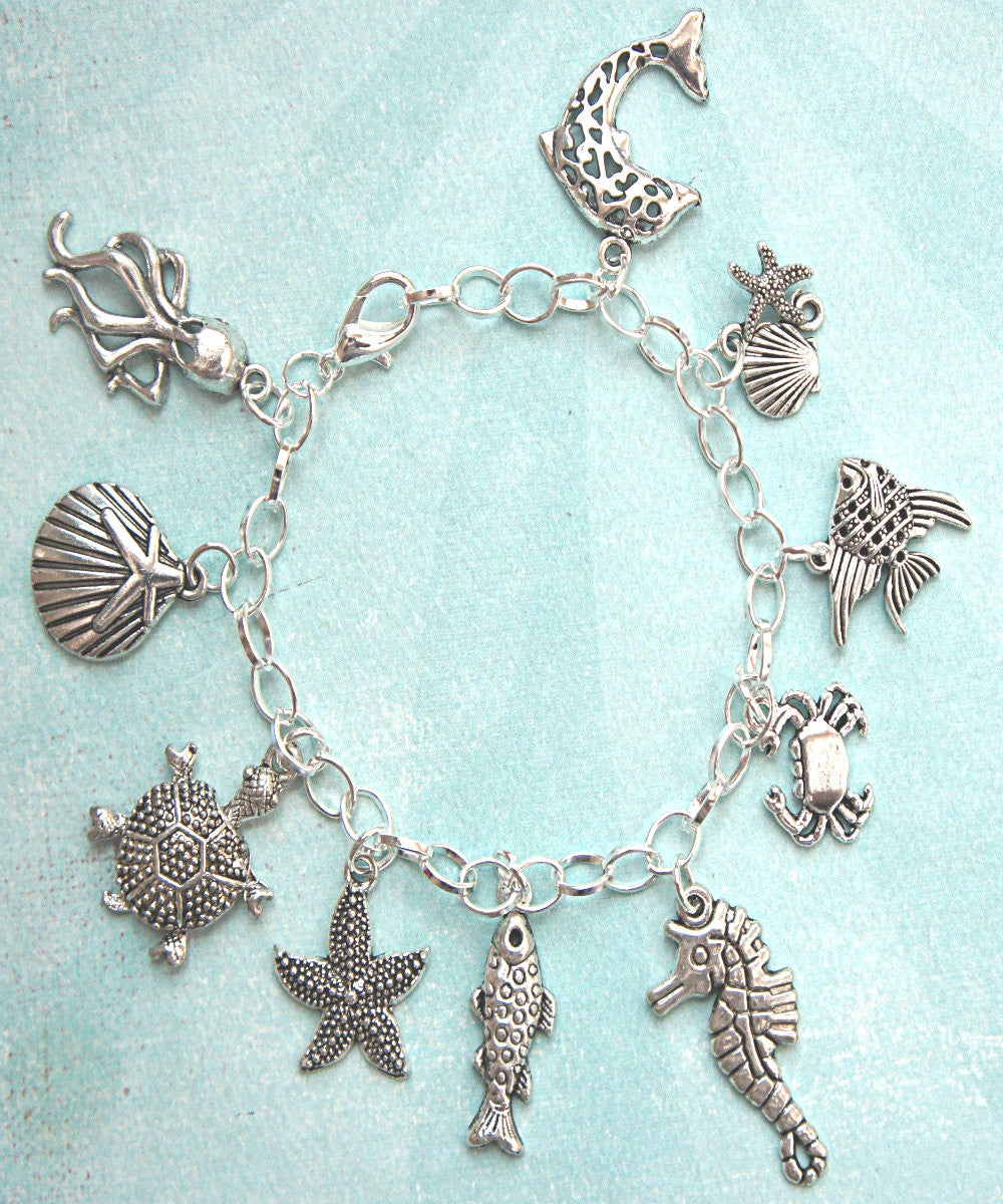 Marine Life Charm Bracelet - Jillicious charms and accessories - 2