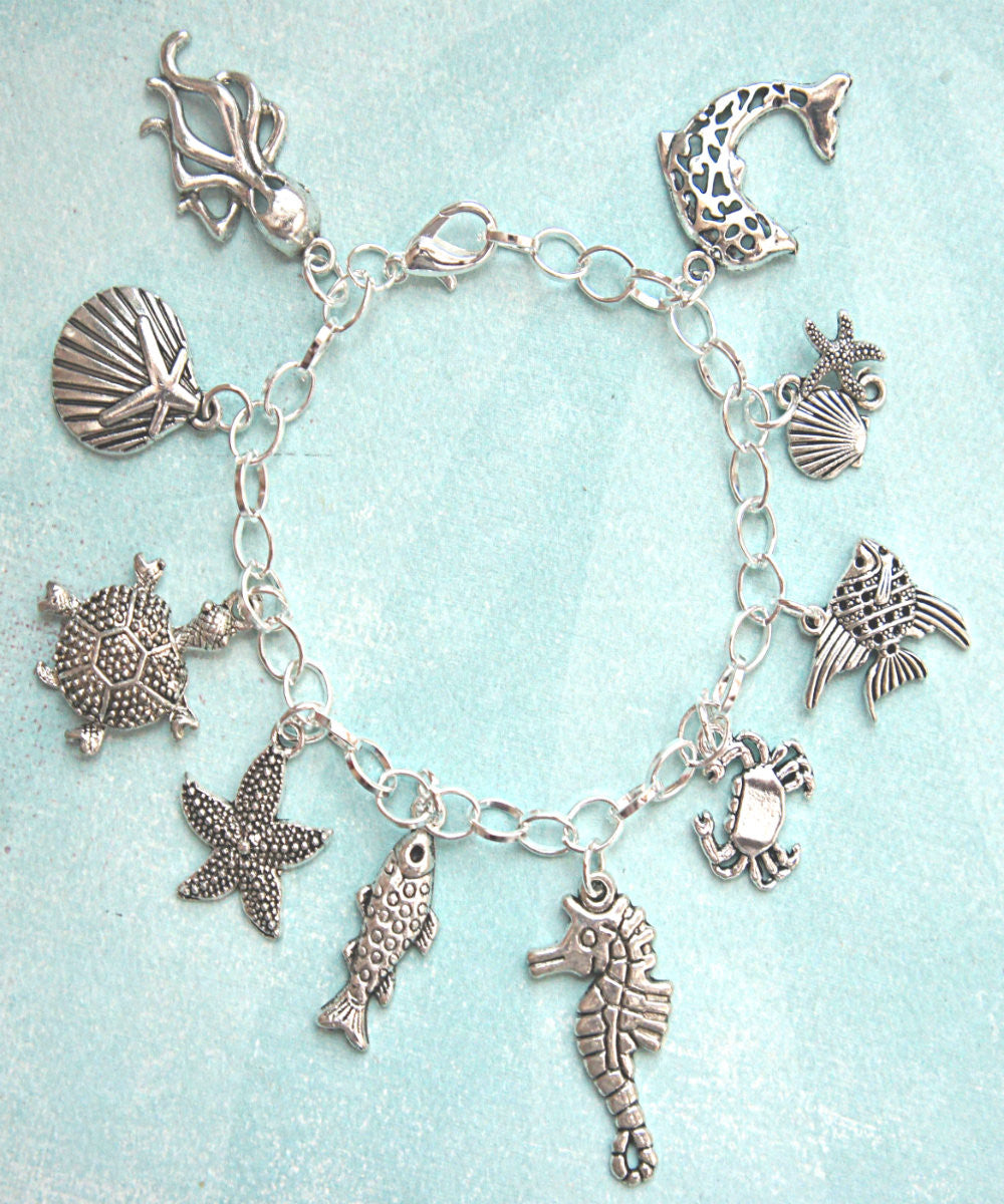 Marine Life Charm Bracelet - Jillicious charms and accessories - 1