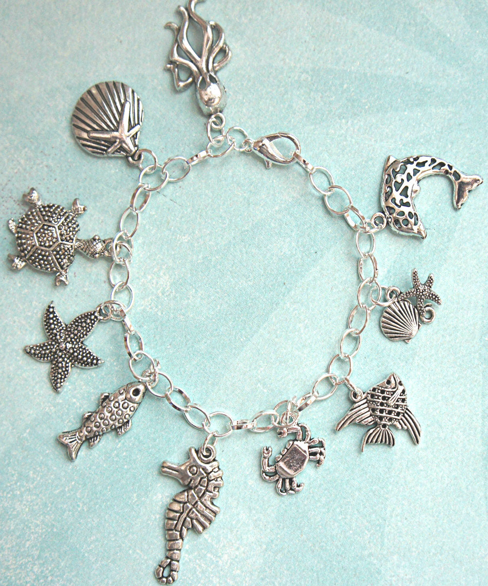Marine Life Charm Bracelet - Jillicious charms and accessories - 3