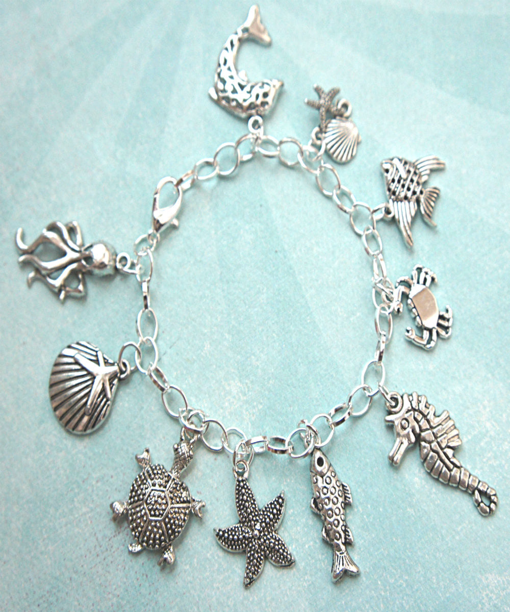 Marine Life Charm Bracelet - Jillicious charms and accessories - 4