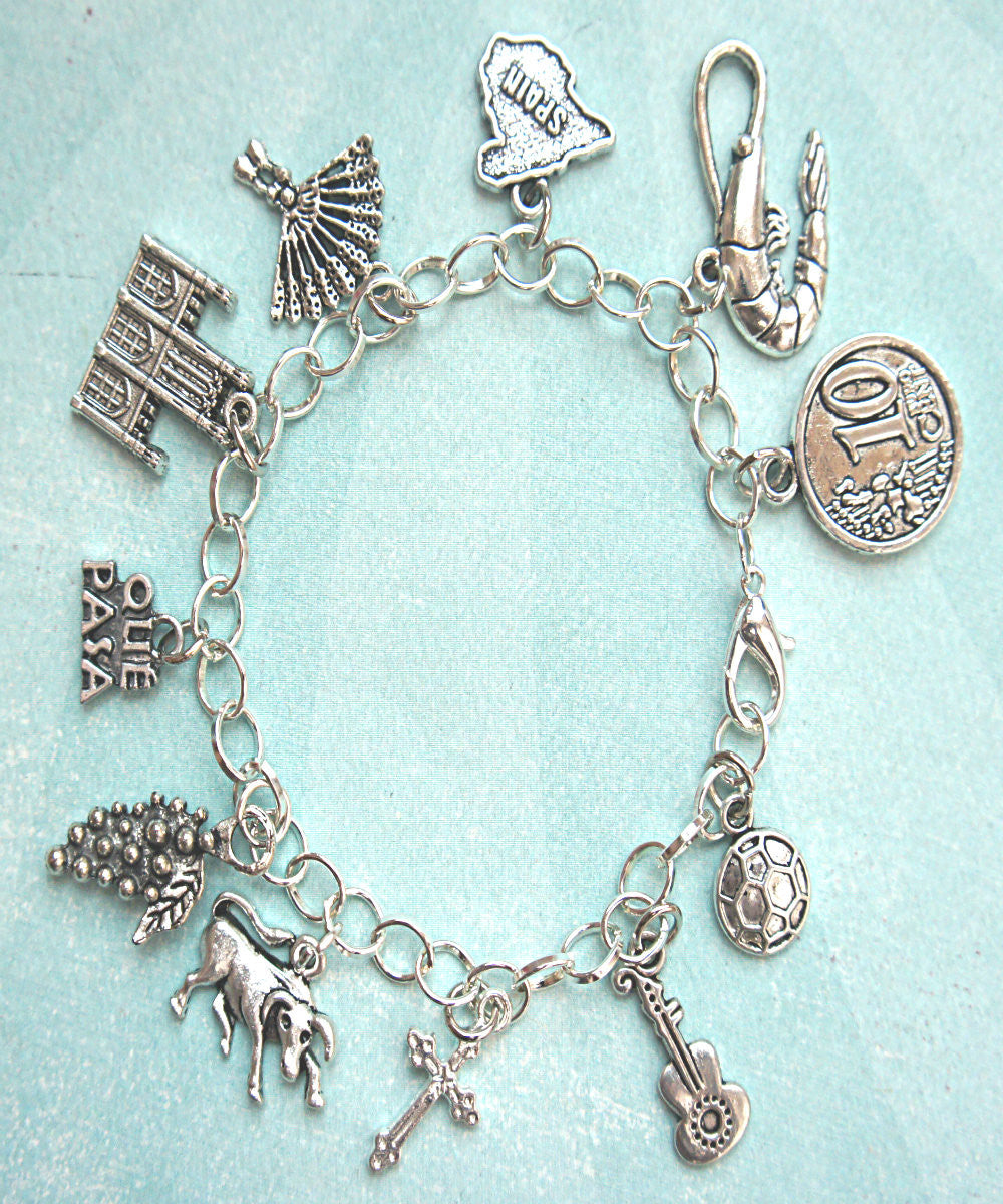 Spain Inspired Charm Bracelet - Jillicious charms and accessories - 2