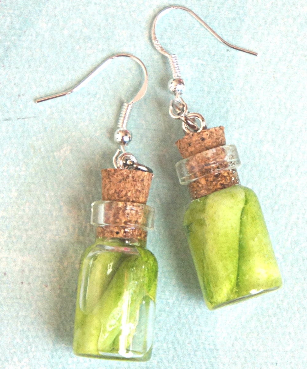 pickles jar earrings - Jillicious charms and accessories - 3