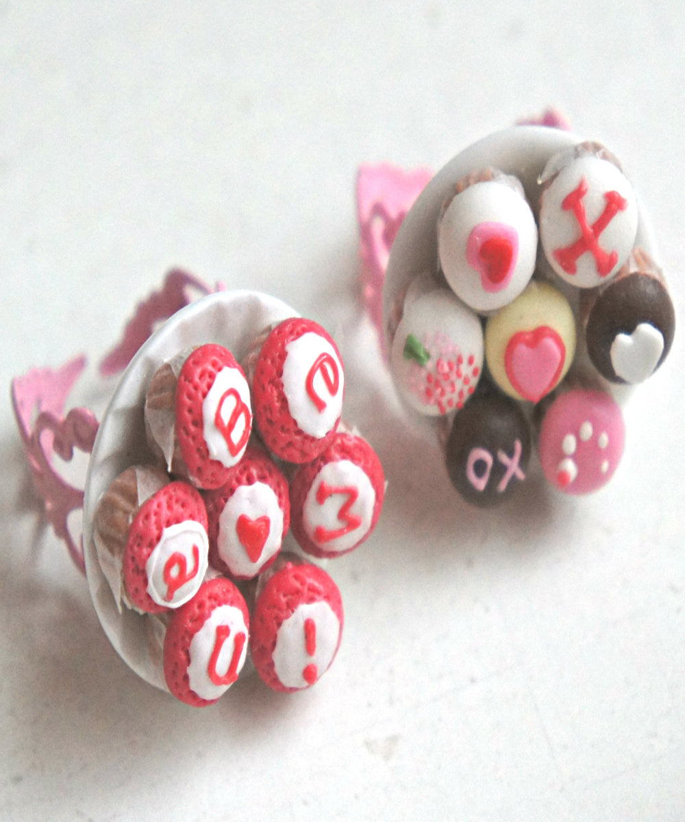 Valentine's Day Cupcakes Ring - Jillicious charms and accessories - 5