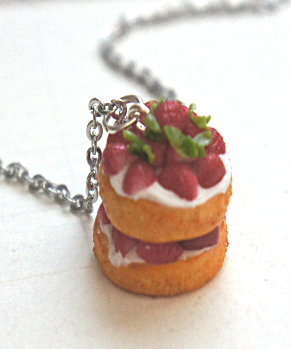 Strawberry Shortcake Necklace - Jillicious charms and accessories - 2