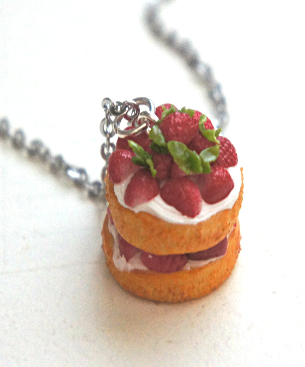 Strawberry Shortcake Necklace - Jillicious charms and accessories