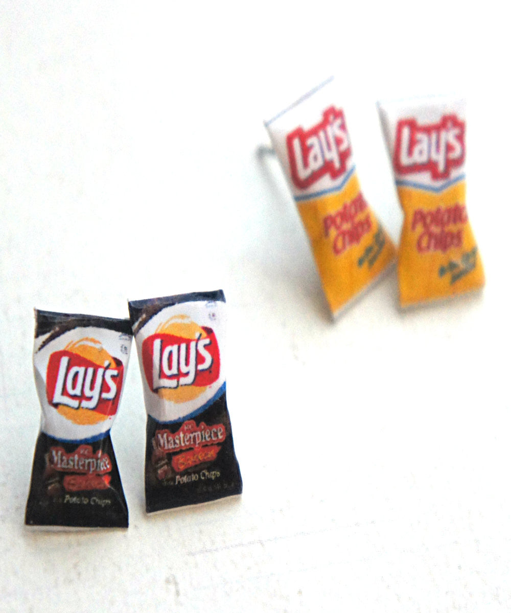 Lay's Potato Chips Earrings - Jillicious charms and accessories - 1