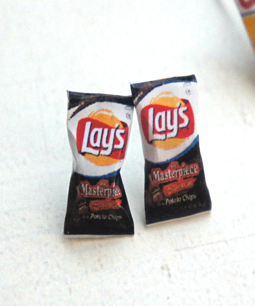 Lay's Potato Chips Earrings - Jillicious charms and accessories - 2